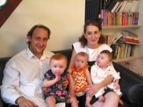 la famille des triplés