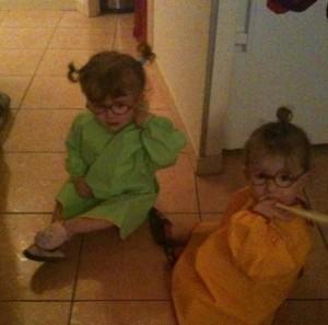 des filles triplés