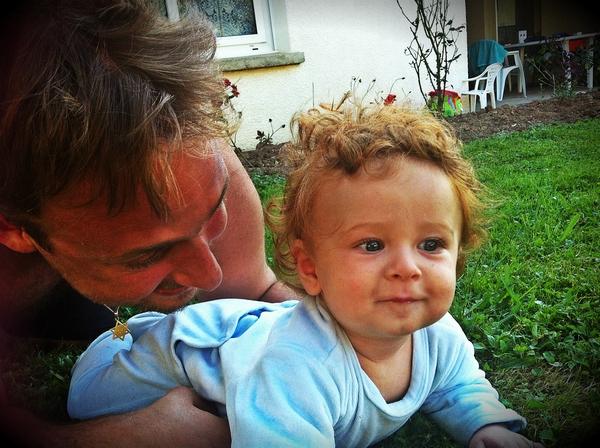 david et papa la vie des triplés