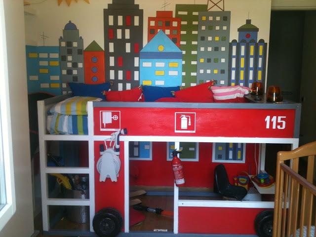lit pompier IKEA