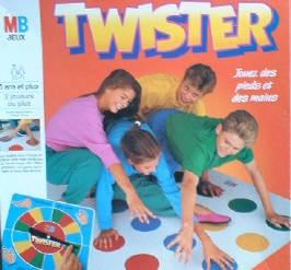 Twister jeu de société