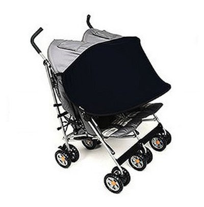 Manito shade twin stroller-pare soleil poussette double