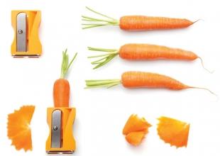 Taille crayon à carottes