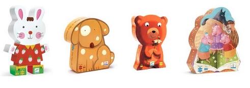 puzzle djeco 24 pièces 2 ans