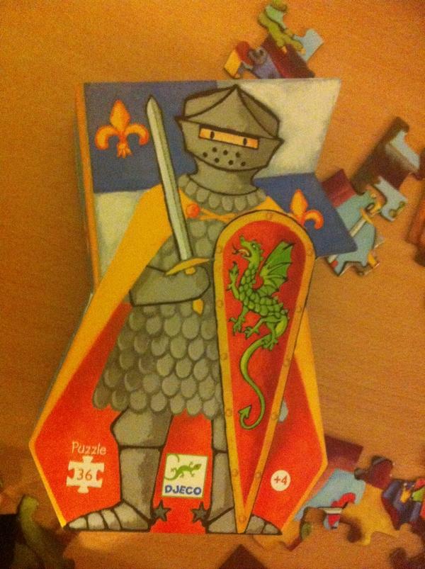 puzzle djeco chevalier