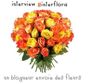 #interflora Un blogueur envoie des fleurs